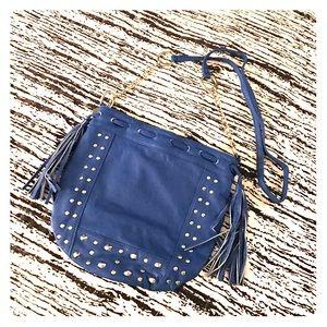 Lulu Handbags - Blue Cross Body Purse