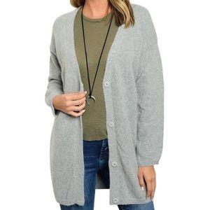 Southern Girl Fashion Sweaters - SWEATER CARDIGAN Oversized Slouchy Layering Jacket