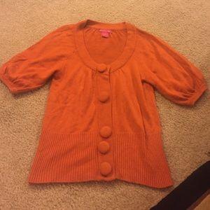 Sunny Leigh Tops - Burnt orange cardigan size S