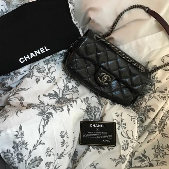 13d03da74fb729 CHANEL Bags | S Blk Flap Bag Rare Chiara Ferragni Fw15 | Poshmark