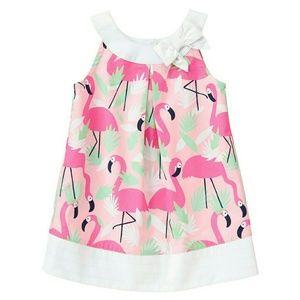 Gymboree Other - Gymboree Flamingo Shift Dress
