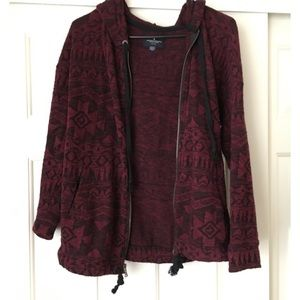 American Eagle Outfitters Jackets & Blazers - Aztec print zip up jacket