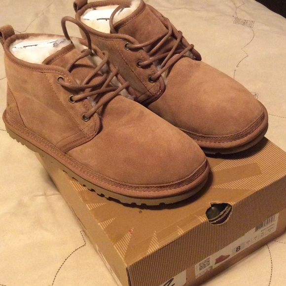 UGG Neumel Boot Chestnut Brand New Men's Size 8