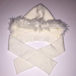 San Diego Hat Company Other - *Hp*!NWT Hooded Faux Fur Scarf Size 2-4 Super Cute