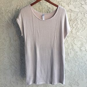 Tops - Oversize Knit Tee