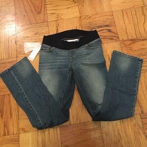 NWT Maternity Liz Lange Boot Cut jeans size 4