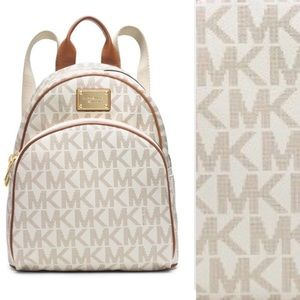 Michael Kors Handbags - Michael Kors jet set vanilla backpack