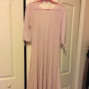 Anthropologie Dresses - NWOT Anthropologie FP Beach Light Pink Dress