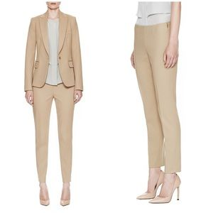 Theory Pants - Theory Belisa Bistretch Ankle Pants in Khaki