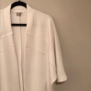 Zara W/B Kimono-Style Open Cardigan