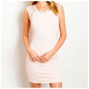 Dresses & Skirts - Pink Bodycon Dress ⚡️SALE⚡️