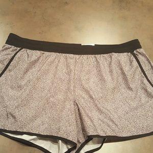 tek gear Pants - Plus Size Gray Running Shorts