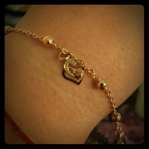 Maya Jewelry - 18k gold filled hamsa bracelet soper cute
