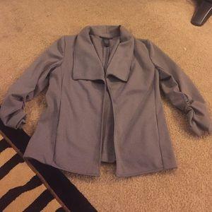 Grace Elements Jackets & Blazers - Gray blazer size S