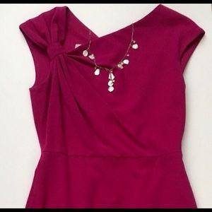 Classic Ivy & Blu Cap Sleeve Dress