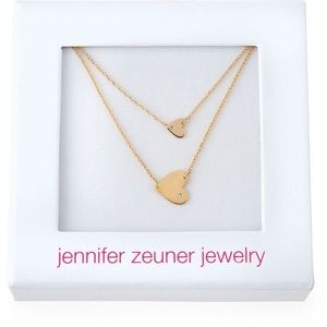 Neiman Marcus Jewelry - 🆕18k Double Heart Necklace
