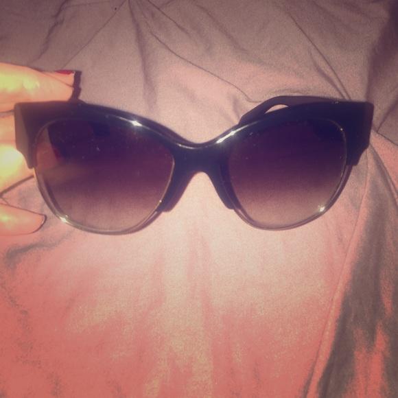 138d9ac70f Prada - SPR 11R Black   Grey Chic Sunglasses