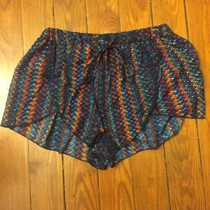 earthbound trading co Other - Patterned NWT silky sleepwear pajama shorts size M