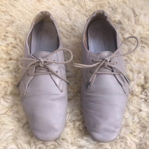 Leather Burberry Shoes