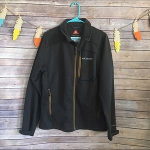 Columbia Other - Columbia men's brown heat mode soft shell jacket