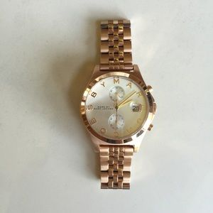 Marc by Marc Jacobs Fergus Rose Gold Watch MBM3380