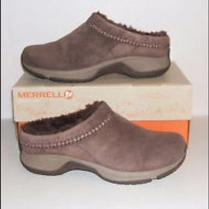 Merrell Shoes - Brown Merrell Suede Shoes Sz 6