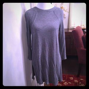Zara side split tunic top