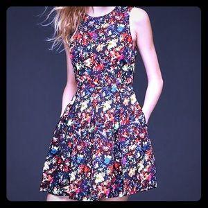 Gap Conffeti Fit & Flare Dress 