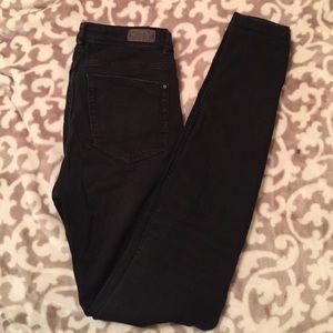Zara stretchy skinny denim with holes