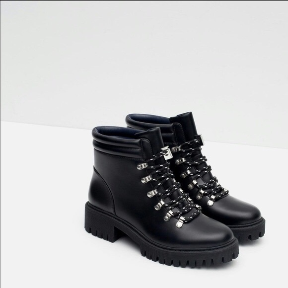 Zara Shoes   Zara Mountain Boots   Poshmark