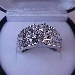 Jewelry - $20050  14k white gold 2.76ct diamond ring