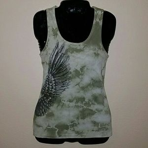 Vocal Angel Wing Tank Top ** BLOWOUT SALE **