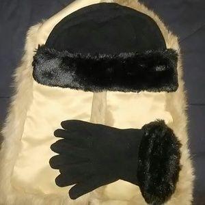 Accessories - Hat & Glove Set ( Women's)