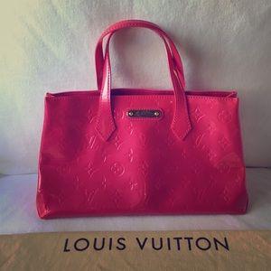 Louis Vuitton Vernis Wilshire Blvd Bag Rose Pop