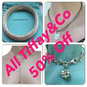 Tiffany & Co. Jewelry - Everything slashed by 50%