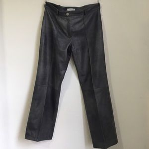 Celine Genuine Leather Pants