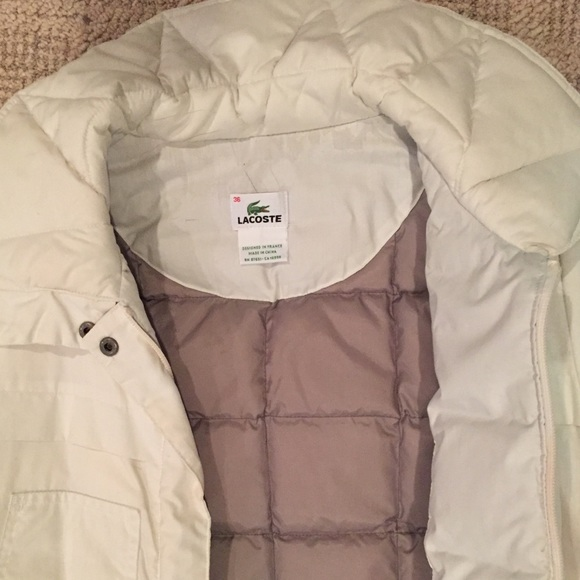 cd9bad259d48 Original Lacoste quilted Jacket