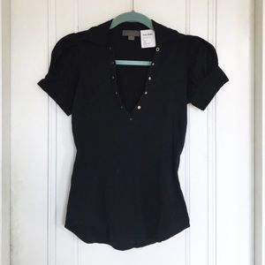 Acne Tops - Acne Jeans Top black XS