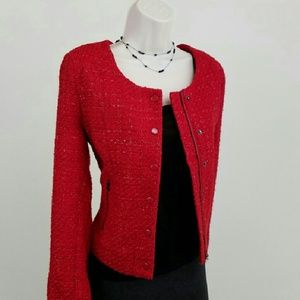 Romeo & Juliet Couture red jacket