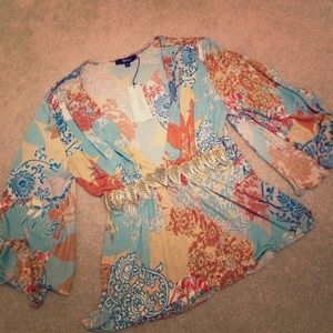 sky Tops - Vintage Sky blouse from SAKS FIFTH AVENUE