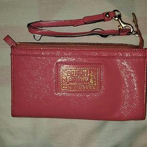COACH Poppy Wallet/Wristlet Combo