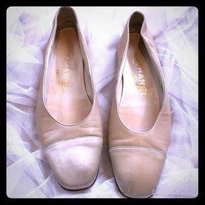 Classic CHANEL ballerina flats! GREAT 4 SPRING!