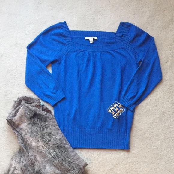 81% off Banana Republic Sweaters - Banana Republic Royal Blue ...