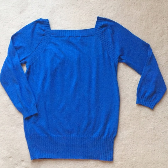 81% off Banana Republic Sweaters - Banana Republic Royal Blue ...