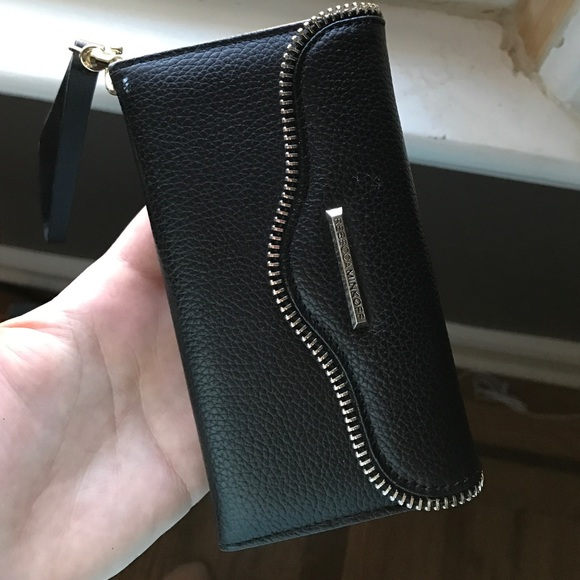 100% authentic 173c1 1d12d Rebecca Minkoff iPhone 6 wallet case