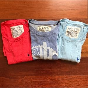 Jack Wills Other - Men's Bundle: 3 Jack Wills T-Shirts