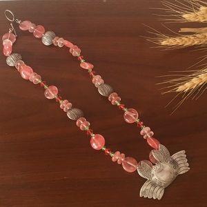 Jewelry - Beaded Crab Necklace