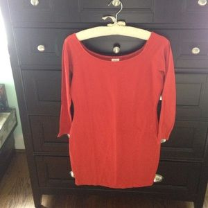 United Colors of Benetton dress, size M, scarlet