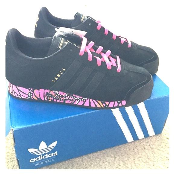 Adidas zapatos Brand New Samoa blackpink w65 poshmark mosaico