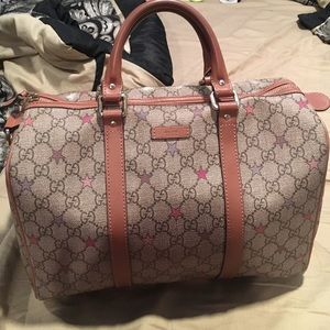 Authentic limited edition Gucci Boston star bag